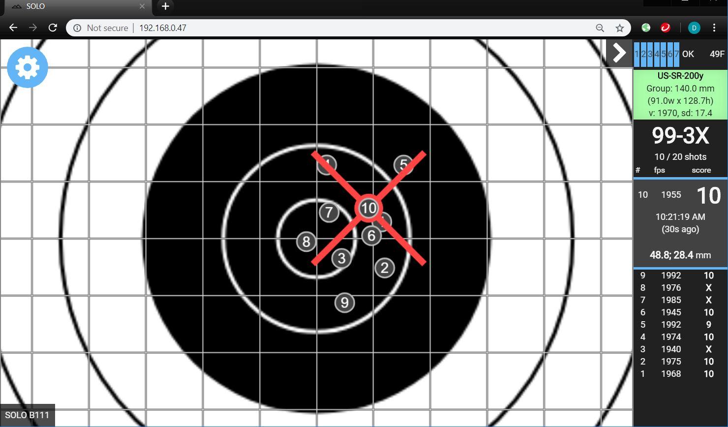 Individual Shooters : Silver Mountain Targets USA, World